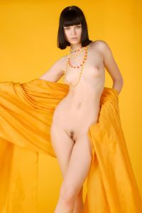 Inga in Yellow
