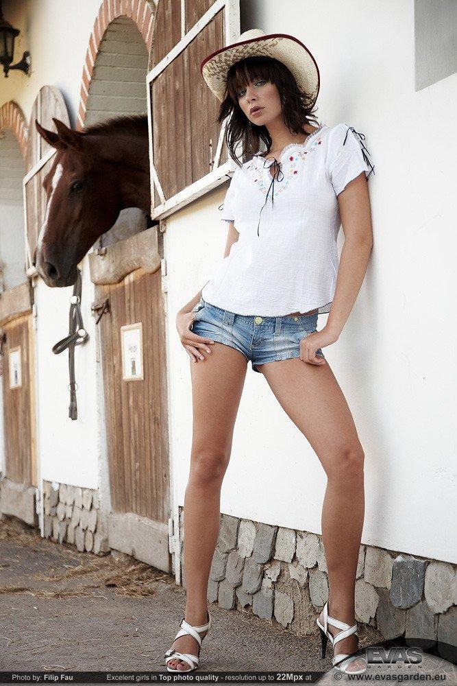 Nina, a vaqueira